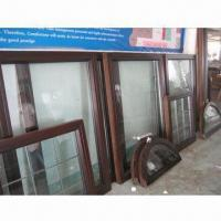 Quality Solid wood windows with aluminum cladding outside wholesale
