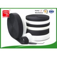Quality Grade A Heavy duty fabric hook and loop fasteners 100% nylon black and white wholesale