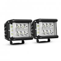 Quality Work Light CREE LED Off Road Driving Light 2 X 45W Side Shot Pod Cubes For Vehicle wholesale