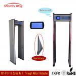 Quality Adjusted Sensitivity XST - F18 Walk Through Metal Detector Rental LCD Screen wholesale