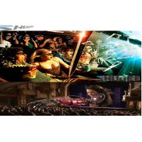 Quality 6D Cinema Movie Theater With 3D Glasses, Rain, Wind, Lightning Special Effect System wholesale