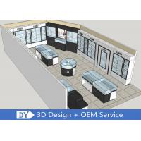 Buy cheap Modern MDF Jewellery Showroom / Custom Jewelry Display Cases from wholesalers