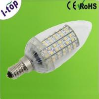 China White High Strength Candle Dimmable LED Light Bulbs for Indoor Decorative Lighting E14 3w on sale