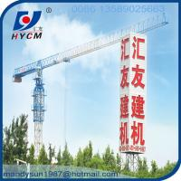 Quality QTP5010 5ton construction topless types of tower crane wholesale