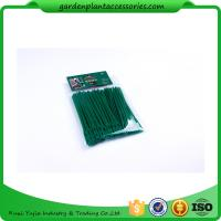 Quality Luster Leaf Twist Garden Plant Ties Strips Green Color ISO 9001 Approved wholesale