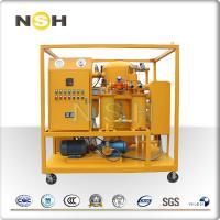 Quality Vacuum Transformer Oil Purifier , Insulating Oil Filter Machine With Housing Cover wholesale