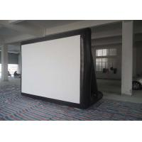 Quality Outdoor 0.55mm PVC Tarpaulin Inflatable Model , Inflatable Movie Screen For  Family / Party Time wholesale