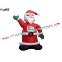 China Custom design oxford BIG inflatable Outdoor Blow up Christmas Decorations on sale