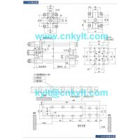 180T PLC High Speed High Pressure Aluminum, Copperbrass, Magnesium, Zinc(zamak), Lead(Pb.) Metal Alloy Die Casting Machine die platen drawing die fitting drawing mounting foundation base drawing