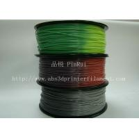 Quality ABS PLA 3d printer filament color changed with temperature for Cubify and UP wholesale