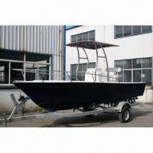 China Personal Watercraft/Streamline Fiberglass Fishing Boat with 6m Length on sale