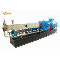 China 62.5mm Dia Twin Screw Compounding Extruder Glass Fiber Reinforced With PBT on sale