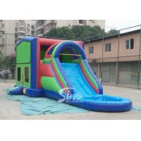China 5in1 module panels outdoor kids inflatable bounce house slide combo from Sino Inflatable on sale