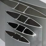 Quality Anodize  Aluminium Extrusion Profiles Fans , Extrusion Aluminum Airfoil Blade wholesale