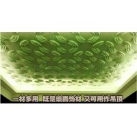 Embossed Home Wall Decor 3D Wall Background / Decorative Wall Paneling for KTV