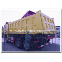 Buy cheap Sinotruk Heavy Duty Tipper Trucks Right Hand Driving 336 HP Tri Axles Front Lifting product