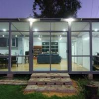 China Prefabricated House, Fold-out Design with Living Rooms/Bedrooms/Kitchens/Bathrooms/Laundry/82sq.m on sale