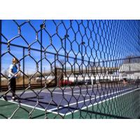 Quality PaddleTennis Court Wire Fencing  , Galvanized After Weaving , 16 Gauge , 1 Inch wholesale