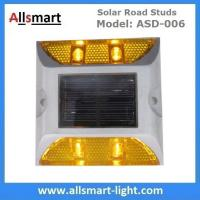 Buy cheap 4 LED Solar Road Studs ASD-006 Solar Reflecting Marker for Traffic Warning Solar Panel Reflecting Studs for Driveway from wholesalers