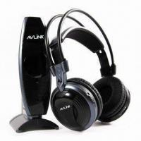 Quality VHF Wireless Headphone with Stereo Audio Mode and 100m Effective Range wholesale