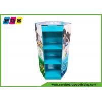 Quality Corrugated Cardboard Four Shelf Display Stable For Games and Puzzles FL210 wholesale