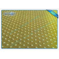 Quality Good Strength Anti Slip PP Spunbonded Non Woven Fabric with PVC Dots wholesale