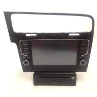 Quality DVD GPS Golf 7 VOLKSWAGEN GPS Navigation System 3G with Dual Zone wholesale