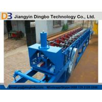 China Light Steel Stud And Track Roll Forming Machine With Chain / Gear Box Driven System on sale