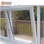 Quality Durable Tilt And Turn Aluminium Windows Swing Open Style Anodized Profile Finish wholesale