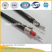 Quality Al 8000 Series 2X8AWG, 2X10AWG, 2X6AWG, 3X8AWG Aluminum Concentric Cable wholesale