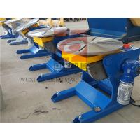 Buy cheap Φ600 Worktable 300KG Rotary Welding Positioners For Manual / Automatic Welding product