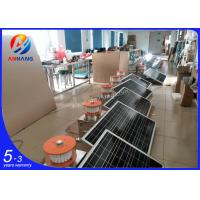 Quality AH-MS/A Solar powered LED obstruction light/solar aircraft warning light ICAO type B/Solar tower lights wholesale