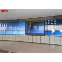 China 46 Inch Curved LCD Screen Portable Video Wall Indoor Display HDMI DVI VGA Signal Interface on sale