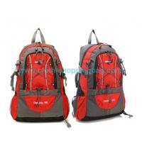 Quality Speed - lift handle polyester fabric camping gear backpack with Thickening sponge wholesale
