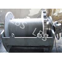 Quality Two Speed Hydraulic Crane Winch Electrical Mooring Winch Long Life wholesale