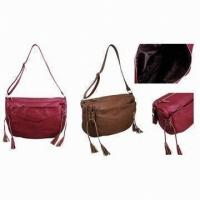Quality Customized OEM / ODM Crossbody Leather Bags For Women Cosmetic Party wholesale