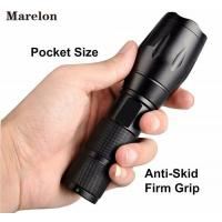 Cheap 1000 Lumens Pocket LED Emergency Flashlight Adjustable Focus Zoom Light for sale