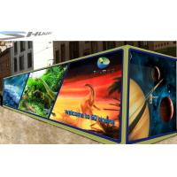 Quality Mobile 6D Movie Theater Simulator With Audio /Broadcast System And Polarized Glasses wholesale
