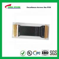 Quality Sillkscreen Flexible PCB Fabrication , Mobile Phone PCB Board Black Solder Mask wholesale