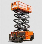 Quality Electric Vertical Electric Mobile Scissor Lift / Scaffolding Aerial Lift Work Platform wholesale