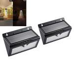 Quality 46 Led Street Lighting Solar Sensor Outdoor Lights With Motion Sensing Black Color wholesale