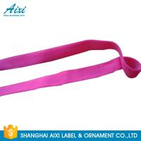 Quality Elastic Webbing Straps Elastic Binding Tape Fold - Over Elastic Tape wholesale