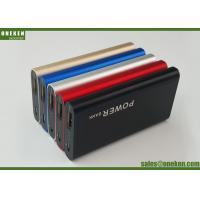 Quality External Phone Battery Charger , Portable Mobile Slim Card Power Bank wholesale