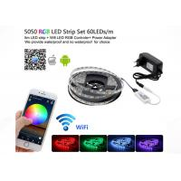 China WiFi Control Smd 5050 Rgb Led Strip Light Home Neon Light With Mini RGB Controller on sale