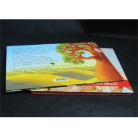 Quality Full Color Glossy Paper Hardcover Book Printing Services , Offset Book Printing wholesale