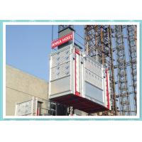 Quality SC Series Double Cage Rack And Pinion Lift Construction Hoist Safety wholesale