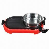 Quality Electric BBQ Grill with Traditional Raclette Cooking, Grill Plate Area 23 x 23.5cm wholesale
