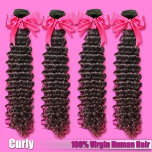 Cheap Indian/Mongolian Curly Virgin Hair,Deep Curly,Kinky Curly Virgin Human Hair for sale
