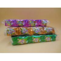 Quality Orange Red / Green / Yellow Bubblegum Chewing Gum Candies QS Certification wholesale