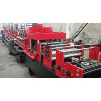 Cheap Dual Holes Punching C Purlin Roll Forming Machine Hydraulic 14 MPa Work Pressure for sale